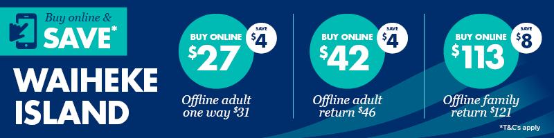 Waiheke Island online deal - Fullers360